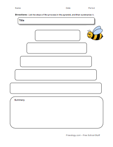 Beehive Flow Chart - Freeology