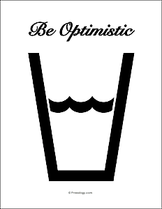 Be Optimistic Poster