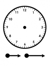 Printable Clock to Learn to Tell Time