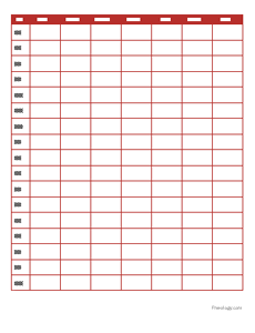 Daily Planning Schedule Template  Daily Planning Template