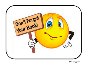 Don't Forget Book Sign