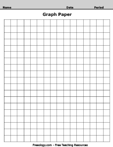 Graph Paper Pattern Worksheet - Freeology