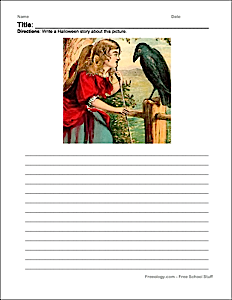 halloween writing ideas ology halloween creative writing pages halloween scary story