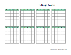 Small Blank Bingo Cards-thumb