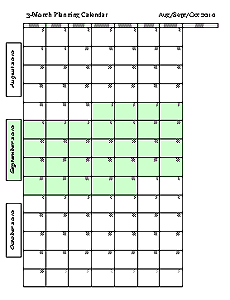 graphic relating to 3 Month Printable Calendars known as 2011-12 Educational 3 Thirty day period Calendars - Freeology