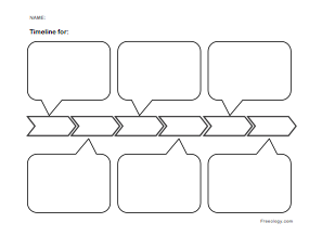 photo relating to Blank Timeline Printable identify Blank Timeline - Freeology
