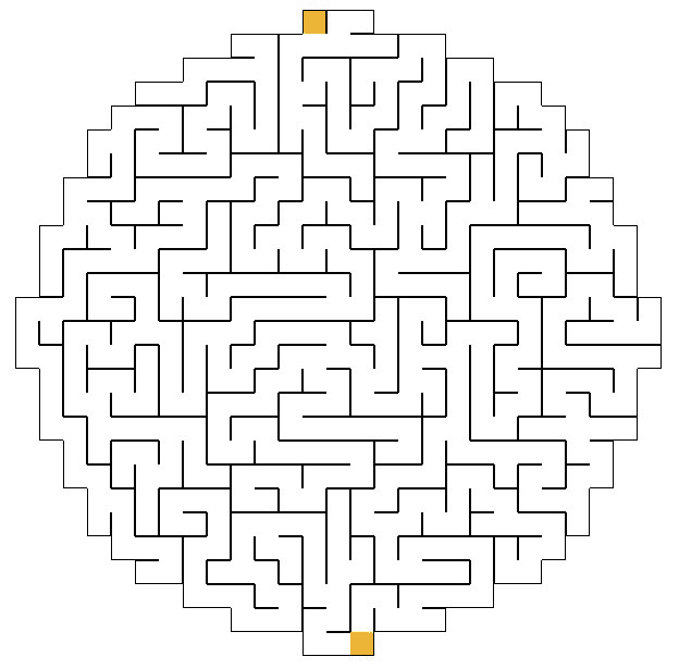 photograph relating to Printable Mazes for Adults named Printable Mazes - Freeology