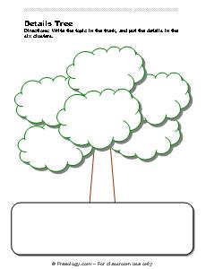 details tree note taking organizer freeology
