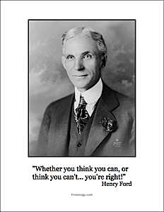 Henry Ford Quote Whether You Think You Can Freeology