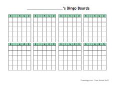 Small Blank Bingo Cards-thumb