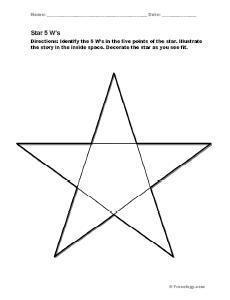 5 Pointed Star Organizer