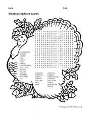 Image Result For Turkey Dinner Coloring
