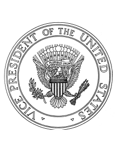 President And Vp Seal Coloring Pages Freeology